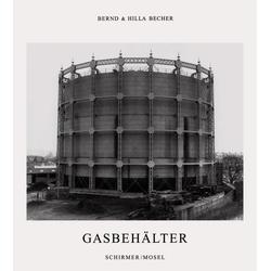 Gasbehälter als Buch von Bernd Becher/ Hilla Becher