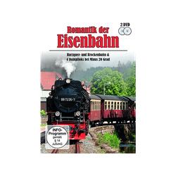 Romantik der Eisenbahn - Harzquer- und Brockenbahn & 4 Dampfloks bei Minus 20 Grad (DVD)