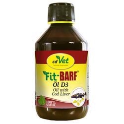(77,56 EUR/l) cdVet FIT-BARF Öl D3 für Hunde 250 ml
