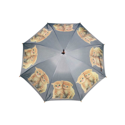 Mars & More Stockregenschirm Mars & More Regenschirm rote Kätzchen