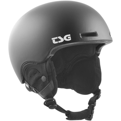 Helm TSG - fly asian fit solid color satin-black (147)