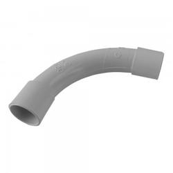 PVC Rohr Bogen 90° Grad Ø20mm Klebemuffe Winkel CRS20G PEP MU-II 20 XBS
