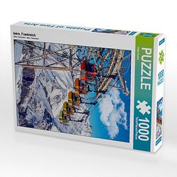 Isère, Frankreich Lege-Größe 48 x 64 cm Foto-Puzzle Bild von Peter Roder Puzzle