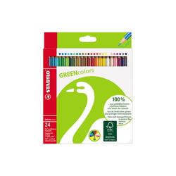 Stabilo Farbstifte Greencolors, 24Er