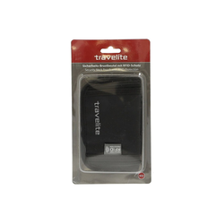 travelite Brustbeutel Sicherheits-Brustbeutel RFID 19 cm schwarz