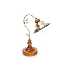 relaxdays Tischleuchte Tischlampe Jugendstil Design neigbar