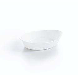 Arcoroc Dessertschale Gastro Cook, Glas, Schale Stapelschale Schüssel 13.1x21.5cm 500ml Glas weiß 1 Stück 13.1 cm x 21.5 cm x 5 cm