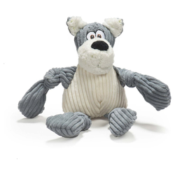 HuggleHounds Hundespielzeug HuggleMutt Roscoe the Mutt Knottie