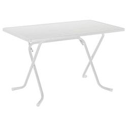 BEST Gartentisch Primo weiß rechteckig