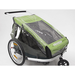 Croozer Rain Cover for Croozer Kid for 2/2010 Transparent 114 x 69 cm