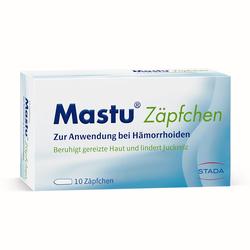 MASTU Zäpfchen 10 St