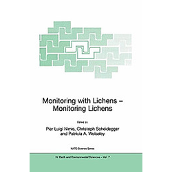 Monitoring with Lichens - Monitoring Lichens - Buch