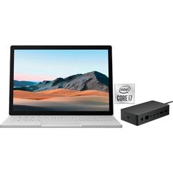 Microsoft Surface Book 3 SET Notebook (34,29 cm/13,5 Zoll, Intel Core i7, 256 GB SSD)