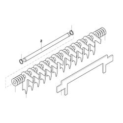 PROXXON 27040-05-02 Achse für Dickenhobel DH40