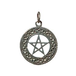 Adelia´s Amulett, Amulett Anhänger Keltisches Pentakel