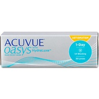 Acuvue Oasys for Astigmatism 30 St. / 8.50 BC / 14.30 DIA / -3.25 DPT / -0.75 CYL / 10° AX