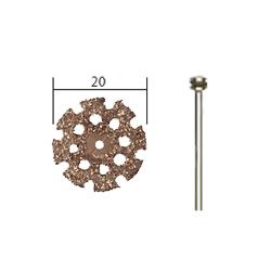 Proxxon Wolfram-Karbid Trennscheibe, Ø 20 mm, mit Träger