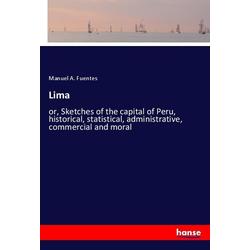 Lima als Buch von Manuel A. Fuentes