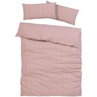MY HOME Melli Linon rosa (135x200+40x80cm)