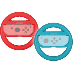 Konix Steering Wheels Lenkrad Nintendo Switch Rot, Blau