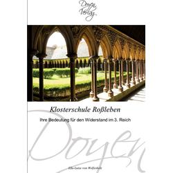 Klosterschule Roßleben als Buch von Ella-Luise von Welfesholz