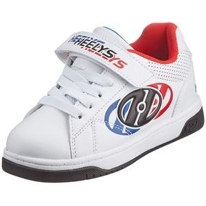 Heelys Swerve X2 Schuhe mit Rollen, weiß blau rot, 35 EU