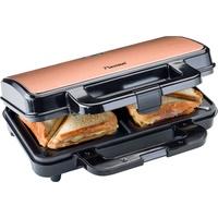 Bestron ASM90XLCO Sandwichmaker kupfer/schwarz