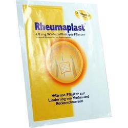 RHEUMAPLAST 4,8 mg wirkstoffhaltiges Pflaster 2 St