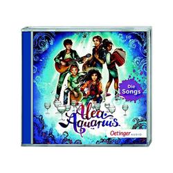 Oetinger Hörspiel CD Alea Aquarius - Die Songs, 1 Audio-CD