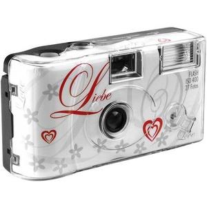 Love White Einwegkamera 1 St. mit eingebautem Blitz