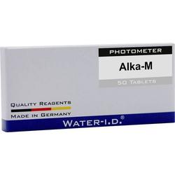 Water ID 50 Tabletten Alkalinität für FlexiTester Tabletten