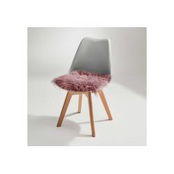 BUTLERS Sitzkissen TASHI Lammfell Stuhlauflage 35x35 cm