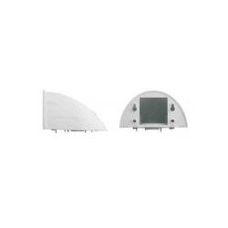 Mobotix Outdoor Wall Mount Kamera Montagesatz geeignet für Wandmontage MOBOTIX D22 D22M D22Mi D24 D24M Q22M Q24 Q24M (MX-OPT-WH)