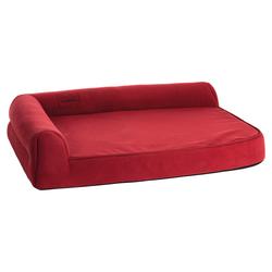Karlie Hundebett Ortho Visco eckig rot, Maße: 80 x 60 x 21 cm