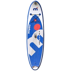 MISTRAL Stand up Paddle Board SURF 8'6 Junior Kid-SUP Aufblasbare, Weiß, M