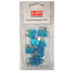 HP Autozubehör Kfz Stecksicherung 15 A in der Farbe blau für das Auto
