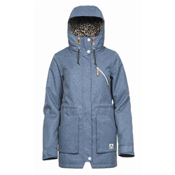 Parka CLWR - WEAR Parka Denim Blue (669) Größe: XS