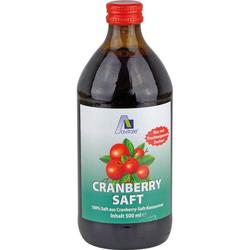 CRANBERRY SAFT 100% Frucht 500 ml