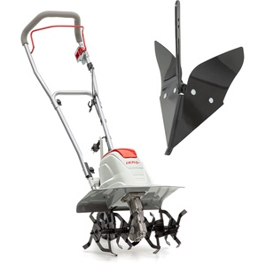 IKRA Elektro Bodenhacke Kultivator FEM 1500 flexible Arbeitsbreite 17-45cm, inkl. Häufelpflug