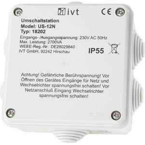 IVT Umschaltstation US-12N 2760 VA 18202 130mm x 130mm x 60mm Passend für Modell (Wechselrichter):U