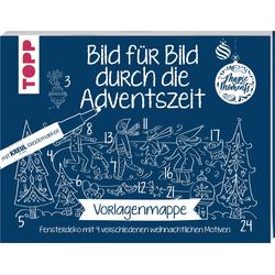 VBS Malvorlage Adventszeit, 8 Seiten