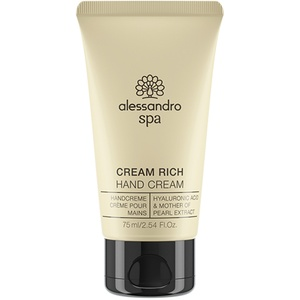 alessandro International Spa Cream Rich 75 ml