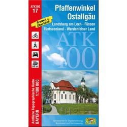 Pfaffenwinkel Ostallgäu 1 : 100 000 als Buch von