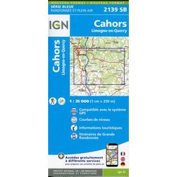 Cahors.Limogne-en-Quercy 1:25 000