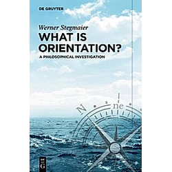 What is Orientation?. Werner Stegmaier  - Buch