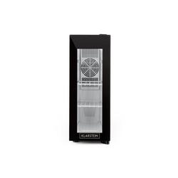 Klarstein Weinkühlschrank Frosty 13L Weinkühlschrank 8-18°C Glastür 35dB kompakt schwarz