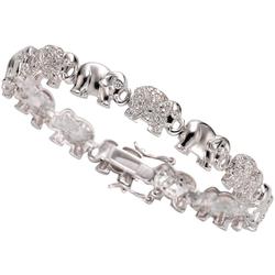 Firetti Armband Elefanten, mit Zirkonia