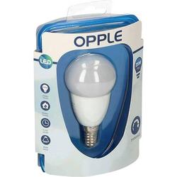 Opple LED EEK A (A++ - E) E14 Tropfenform 4W = 25W Warmweiß (Ø x L) 45mm x 84mm 1St.