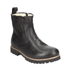 Blackstone OM63 BLACK Stiefel 43