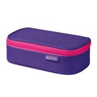 Herlitz 50022076 Etui Weiches Federmäppchen Polyester Pink, Violett